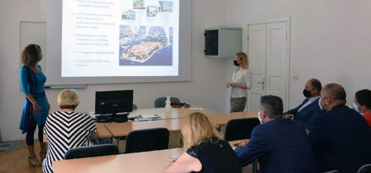 SVEUČILIŠTE Slovački parlamentarci u posjeti Odjelu za ekologiju, agronomiju i akvakulturu